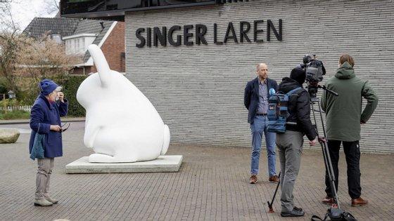O Museu Singer Laren fica a cerca de 30 quilómetros de Amesterdão