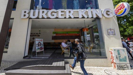 Burger King em Cascais, Portugal