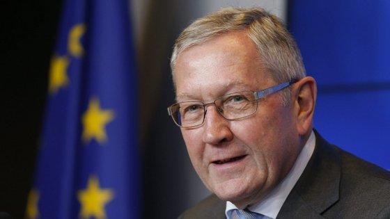 Klaus Regling é o diretor-geral do Mecanismo Europeu de Estabilidade.
