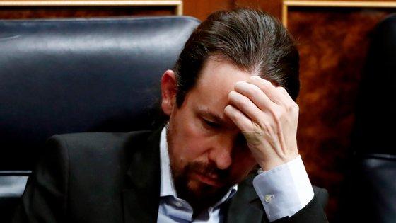 Pablo Iglésias, vice-primeiro-ministro de Espanha e secretário geral do Podemos, foi atacado de forma dura pelo ex-jogador García Calvo
