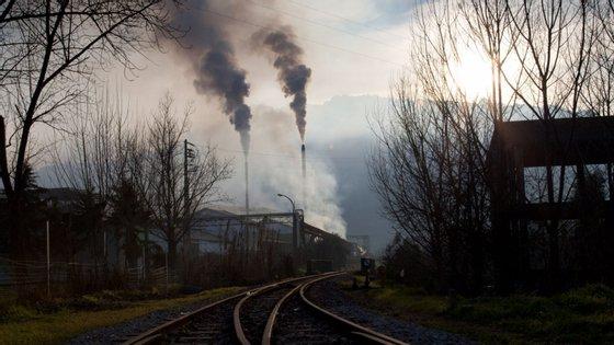Os níveis deste gás na atmosfera caíram sobretudo a partir do dia 10 de março