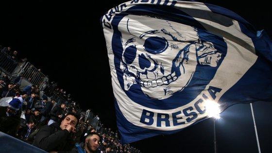 O Brescia está nesta altura no último lugar da Serie A, à beira da despromoção