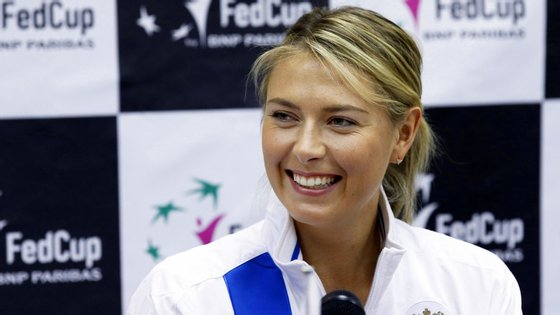 Maria Sharapova abandonou recentemente o ténis profissional
