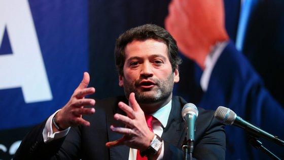 """André Ventura assume perante os militantes que uma clarificação política interna e uma convenção nacional podem ser """"o motor de unidade que o partido precisa"""""""