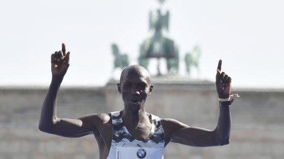 Wilson Kipsang venceu algumas das maratonas mais mediáticas do mundo mas tem somado casos nos últimos tempos