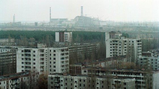 O fogo situa-se na Zona de Exclusão de Chernobyl, com cerca de 30 quilómetros, que foiestabelecida após o desastre de 1986