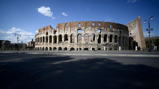 Itália é o país onde morreram mais pessoas na sequência da infeção pelo novo coronavírus