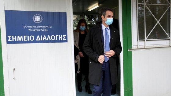 A Grécia regista, até à data, 76 vítimas mortais associadas à pandemia da Covid-19, em 1.735 casos de infeção pelo novo coronavírus