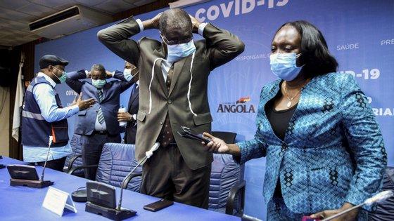 Angola regista atualmente 17 casos positivos da doença, dos quais dois resultaram em morte