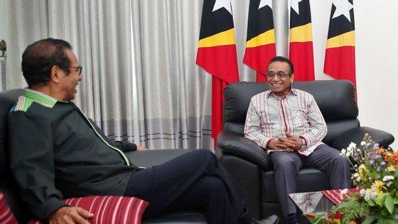 O chefe de Estado tinha pedido a demissão no dia 22 de fevereiro