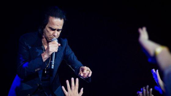 O concerto de Nick Cave foi um dos vários desmarcados em Portugal na sequência da Covid-19