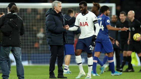Mourinho já criticou publicamente Tanguy Ndombele inúmeras vezes