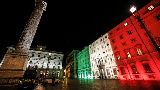 A Lombardia é a região mas castigada pela pandemia em Itália