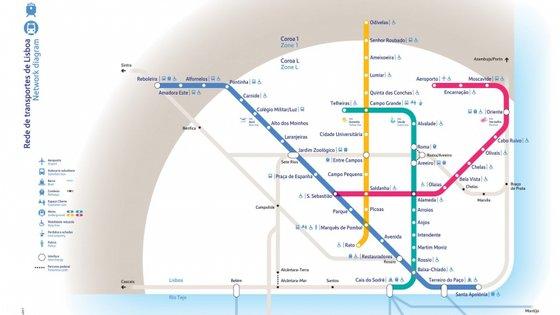 Em março foi aprovada uma alteração ao Orçamento do Estado para 2020 para a suspensão do projeto de construção da linha circular do Metro de Lisboa
