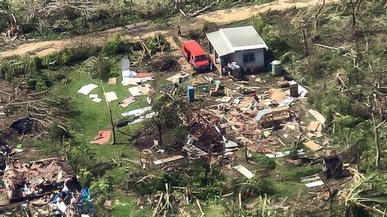 Ainda não foram registados mortos ou feridos porque as comunicações estão cortadas com parte das 83 ilhas do arquipélago de Vanuatu