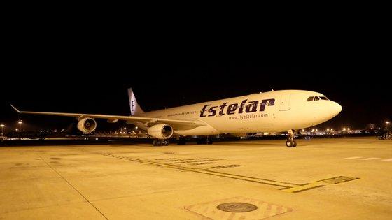 Equipamentos integram o pacote de 100 toneladas encomendado para a AML, cuja entrega foi distribuída em três voos diferentes