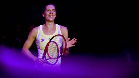 Em 2011, Andrea Petkovic chegou ao top 10 do ranking WTA