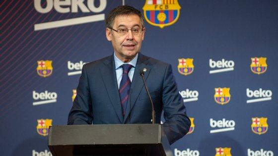 O presidente dos catalães garante que vai continuar no cargo até ao fim do mandato, em 2021