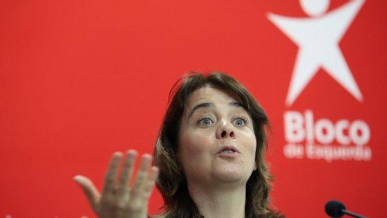 """Bloco de Esquerda rejeita que se volte a aplicar austeridade ao país e fala mesmo em """"aprender com erros do passado""""."""