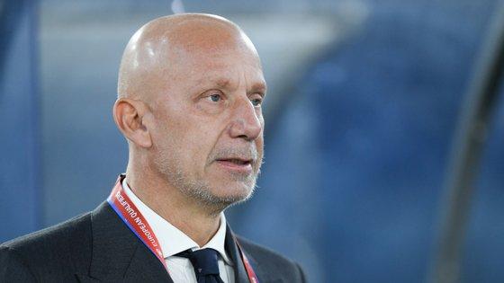 Gianluca Vialli, um dos grandes avançados italianos na década de 90, está hoje na estrutura da seleção transalpina