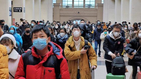 A cidade de Wuhan (China) foi o epicentro do primeiro surto do novo coronavírus