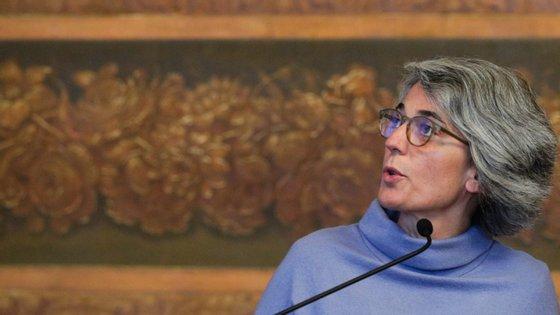 A ministra da Cultura, Graça Fonseca, foi ouvida esta quarta-feira pela Comissão de Cultura e Comunicação por causa do novo coronavírus