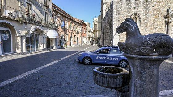 O funeral está agora a ser investigado pelo Ministério Público (Fabrizio Villa/Getty Images)
