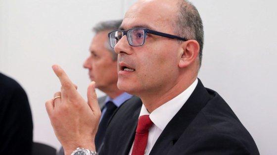 """António Ventinhas disse não perceber críticas dirigidas à direção do SMMP por esta ser """"menos restritiva"""" do que aquelas que foram manifestadas por alguns partidos"""