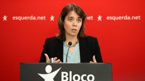 """A líder bloquista explicou que """"não se espera"""" que o partido defenda políticas de austeridade"""