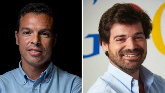 Stephan Morais (à esquerda) é o fundador e diretor-geral da Indico Capital Partners. Nuno Pimenta (à direita), é o responsáveldas áreas de startups, retalho e viagens na Google Portugal