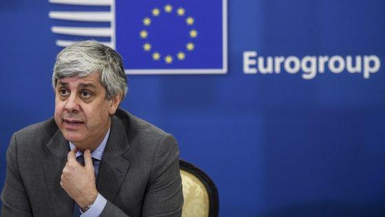 Mário Centeno fez a audição por videoconferência. Alguns dos deputados estavam no Parlamento Europeu, outros nas suas casa