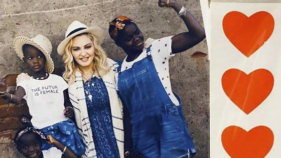 Madonna viveu em Lisboa até finais de 2019