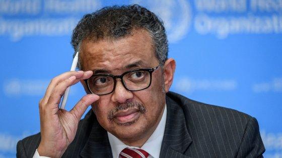 Tedros Adhanom Ghebreyesus, diretor-geral da OMS, continua a defender timings declarados pela agência em relação à Covid-19