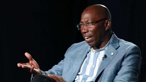 Domingos Simões Pereira, presidente do Partido Africano para a Independência da Guiné e Cabo Verde Partido Africano. INÁCIO ROSA/LUSA