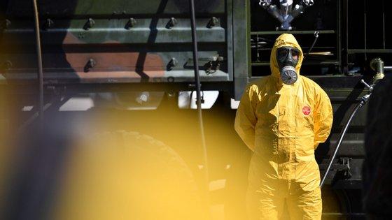 A pandemia de covid-19 já provocou mais de 200 mil mortos