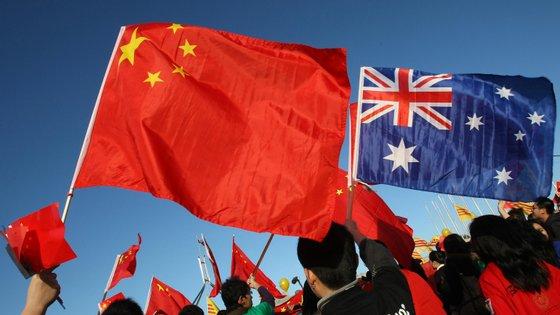 A China ainda é o maior parceiro comercial da Austrália, apesar de os dois países terem mantido uma relação tensa nos últimos anos