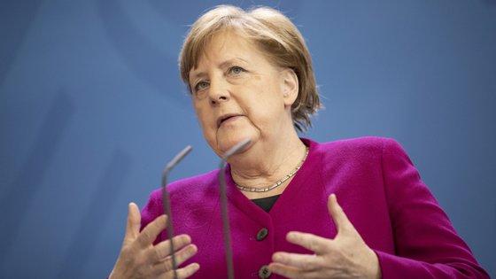 """""""O essencial é o sucesso global da preservação do clima"""", vincou Angela Merkel"""