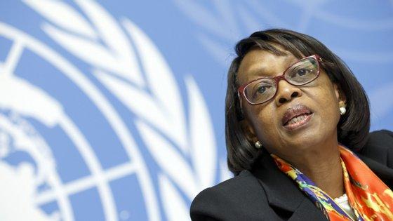 As declarações foram feitas pela diretora regional da OMS para África, Matshidiso Moeti