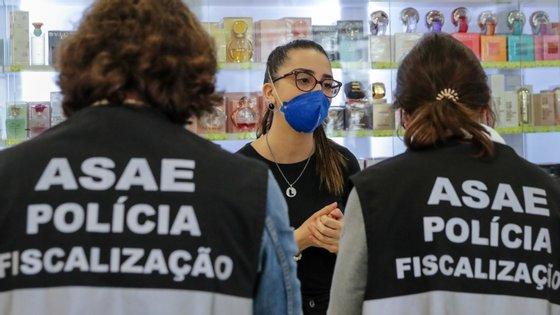 """A ASAE revelou que foram ainda instaurados """"50 processos de contraordenação"""""""