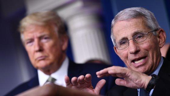 Anthony Fauci é diretor do Instituto Nacional de Alergias e Doenças Infecciosas desde 1984, quando foi nomeado para o cargo pelo então Presidente Ronald Reagan