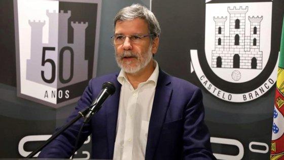 """""""Mantenho-me na legitimidade do direito que me foi conferido pelo povo"""", afirmou Luís Correia"""