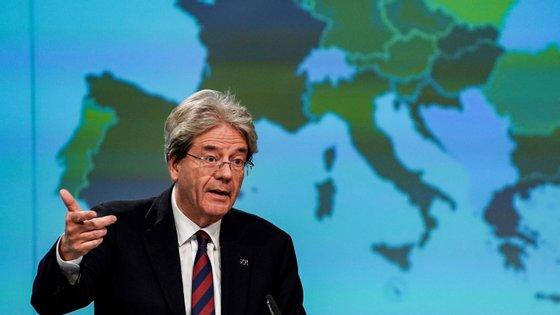 """O responsável italiano defendeu que Portugal deve criar """"respostas nacionais"""" e """"garantias nacionais à liquidez"""""""