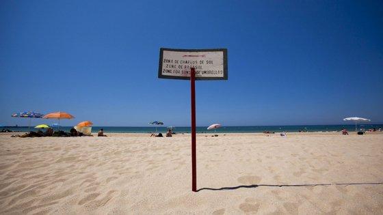 As praias de Póvoa de Varzim estiveram interditas desde 14 de março