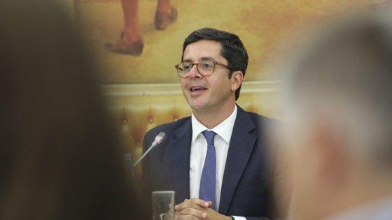 João Paulo Rebelo, secretário de Estado do Desporto, também é o coordenador da resposta ao surto na região centro