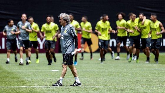 Jorge Jesus regressou no início de maio ao Brasil, Flamengo terá nos próximos tempos sessões de trabalhos individualizados