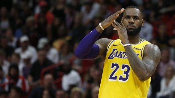 LeBron James, estrela dos Los Angeles Lakers, teve uma das reações mais fortes ao assassinato de Ahmaud Arbery