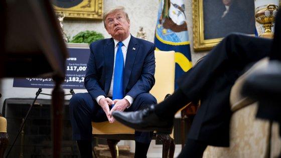 Donald Trump, à semelhança do vice-presidente, continua a ser testado todas as semanas, segundo a CNN
