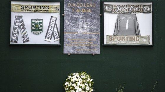 Novo Estádio José Alvalade tem um espaço na zona do Parque Centenário com uma lápide que recorda o Dia do Leão, a 7 de maio