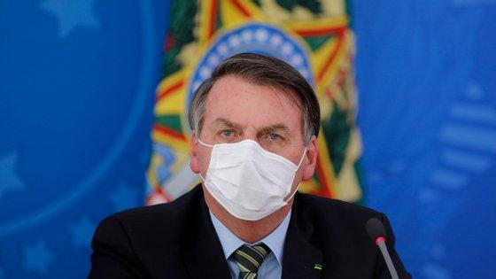 Bolsonaro declarou que a crise provocada pelo novo coronavírus causou aflição entre os empresários