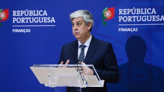"""O ministro reiterou que a evolução que se prevê para a economia portuguesa nos anos de 2020 e 2021 está """"totalmente em linha"""" com a da União Europeia"""